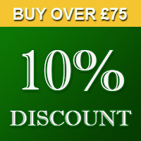 10% OFF on all orders over £50