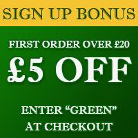 Sign Up Bonus - First Order Over £20
