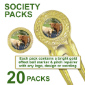 Society Packs (1 Pitch Repairer & 1 Ball Marker per pack)