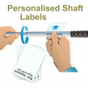Shaft Labels Super Clear Extra