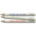 Golf Pencils with Erasers